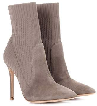 Gianvito Rossi Katie suede ankle boots