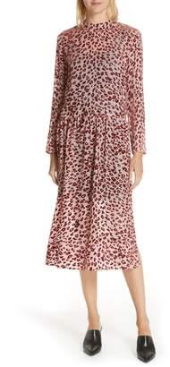 Rag & Bone Gia Devore Leopard Spot Dress