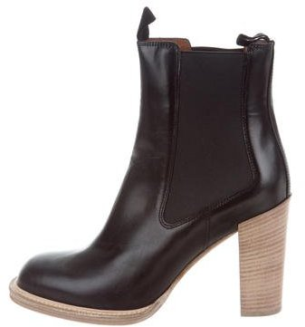 Céline Leather Ankle Boots w/ Tags