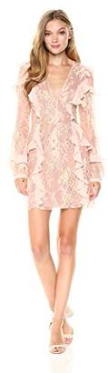 For Love & Lemons Women's Bumble Long Sleeve Dress