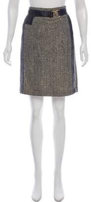 Mayle Metallic Knee-Length Skirt