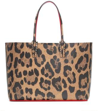 Christian Louboutin Cabata printed leather tote