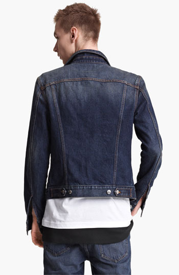 BLK DNM 'Jeans Jacket 5' Stonewashed Denim Jacket