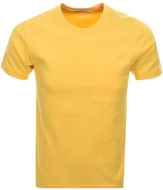 Nudie Jeans Kurt Worker T Shirt Yellow