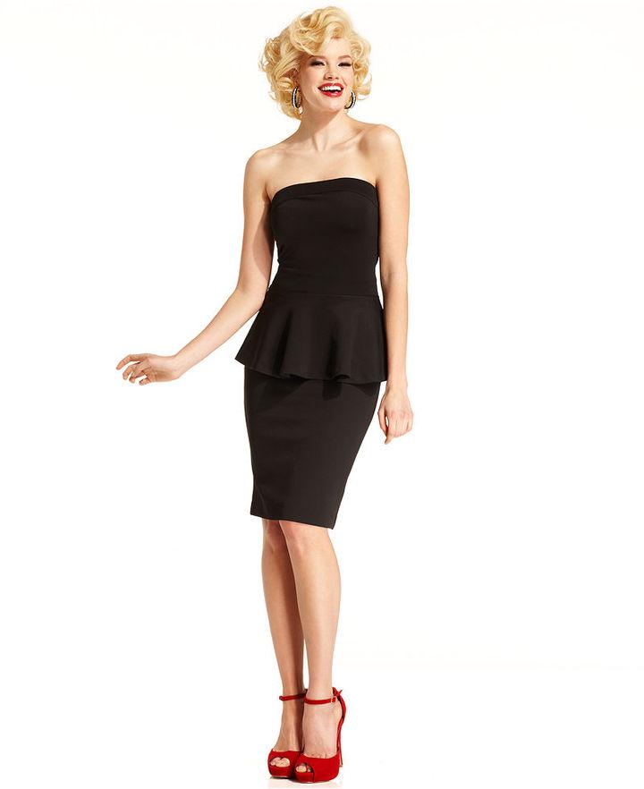 Monroe Marilyn Juniors Skirt, High-Waist Pencil Skirt