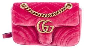 Gucci GG Marmont Matelassé Small Shoulder Bag