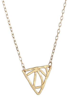 Annalaya Jewelry Design Inward Angles Necklace