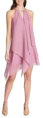 Kensie Dresses Draped A-Line Dress