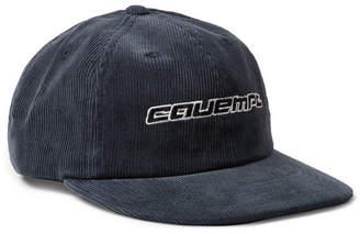Cav Empt Embroidered Cotton-Corduroy Baseball Cap