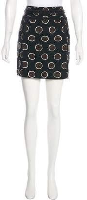 Tory Burch Polka Dot Mini Skirt