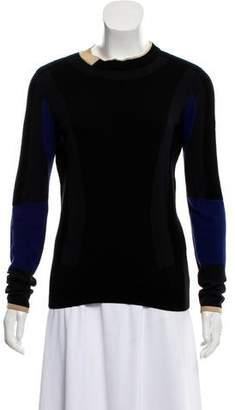 Belstaff Colorblock Crew Neck Sweater