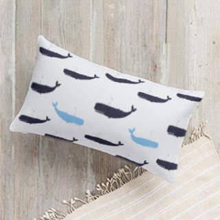 Against The Tide Lumbar Pillow