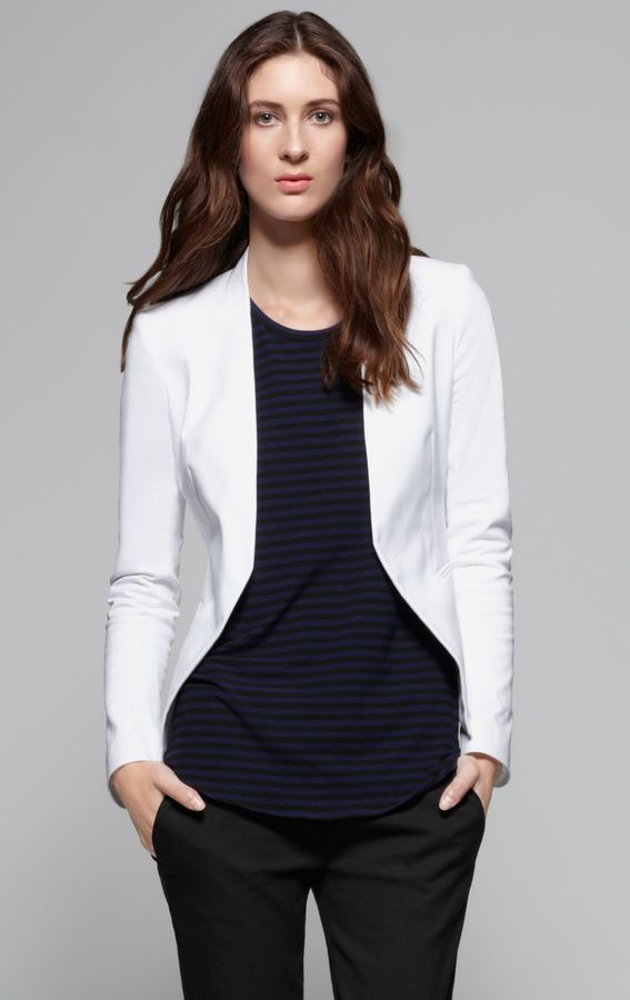 Lanai Stretch Canvas Modern Blazer