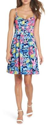 Lilly Pulitzer R) Easton Fit & Flare Dress