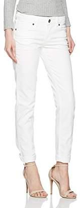 Silver Jeans Women's L93310 Slim Slim Jeans (Narrow Leg) - White - W30/L31
