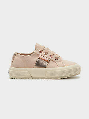 Superga New Womens Girls 2750 Sneakers In Pink Rose Gold Girls Shoes