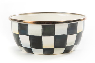 Mackenzie Childs MacKenzie-Childs Courtly Check Enamel Pinch Bowl