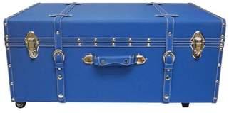 DormCo Designer Wheeled Trunk - Pacific Blue
