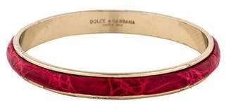 Dolce & Gabbana Crocodile Bangle