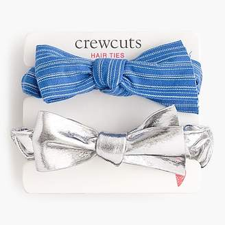 J.Crew Girls' scrunchie two-pack