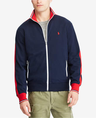 Polo Ralph Lauren Men's Knit Cotton Track Jacket $98.50 thestylecure.com