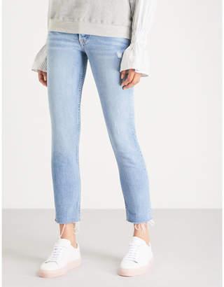 GRLFRND Karolina cropped high-rise skinny jeans