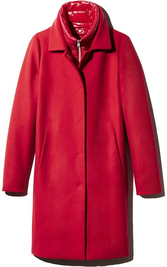 Detachable Puffer Bib Coat