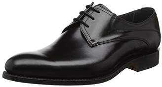 Barker Men''s Wickham Derbys, (Black Polished), 41 EU