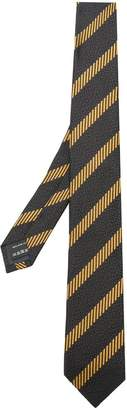 Ermenegildo Zegna striped textured tie