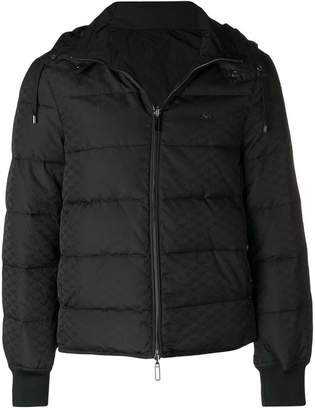 Emporio Armani hooded padded jacket