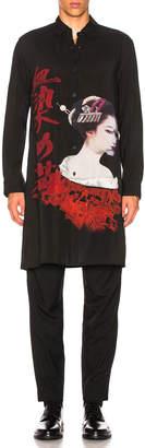 Yohji Yamamoto Printed Shirt