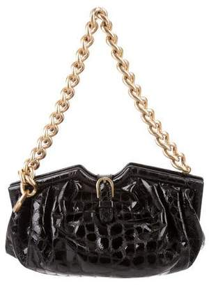 Jimmy Choo Embossed Patent Leather Bag