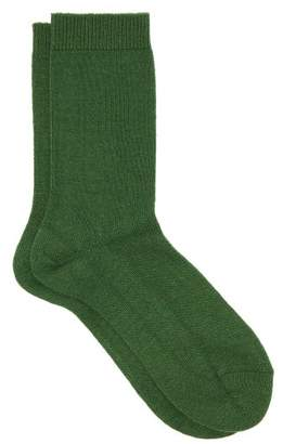 Falke Cosy Ankle Socks - Womens - Green