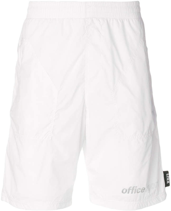Upww zipped track shorts