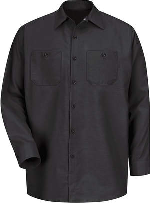 JCPenney Red Kap SP14 Industrial Solid Work Shirt-Big & Tall