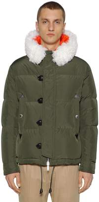 DSQUARED2 Hooded Nylon Taffeta Down Jacket