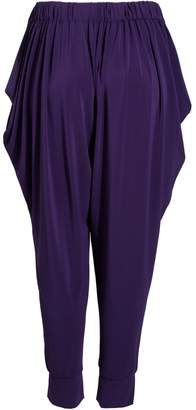 Issey Miyake Lined Printed Pants