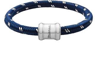 Miansai Barrel Casing Nylon Woven Bracelet