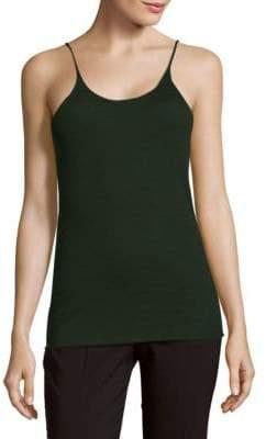 Tibi Solid Cashmere Camisole Top