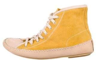 See by Chloe Suede High-Top Sneakers
