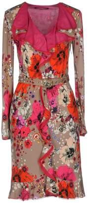 Roberto Cavalli Knee-length dresses - Item 34816252SX
