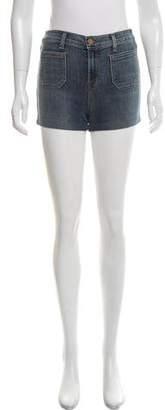 J Brand Mid-Rise Denim Mini Shorts
