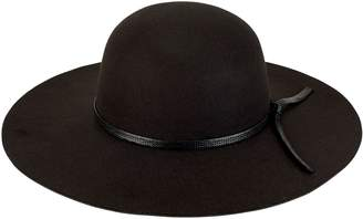 San Diego Hat Co. Faux-Felt Round Floppy Hat