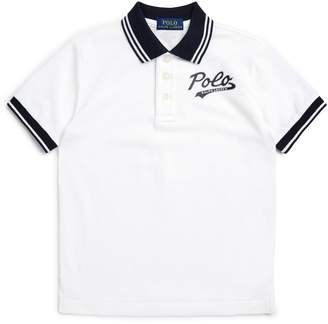 Ralph Lauren Contrast Trim Polo Shirt