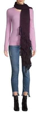 UGG Wool-Blend Fringe Scarf