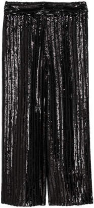 H&M Sequined Culottes - Black