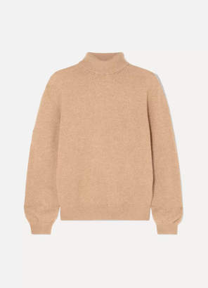 Khaite - Julie Cashmere Turtleneck Sweater - Camel