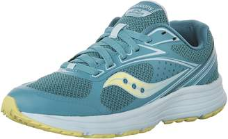 Saucony Women's Seeker Running Shoes, Teal/Citron