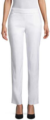 WORTHINGTON Worthington Modern Fit Woven Pull-On Pants