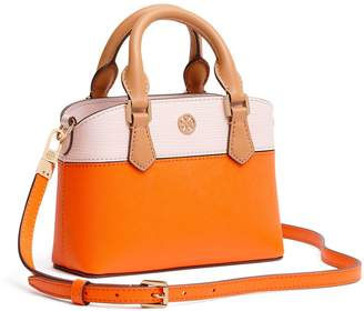 Tory Burch ROBINSON COLOR-BLOCK TOP-HANDLE MINI BAG